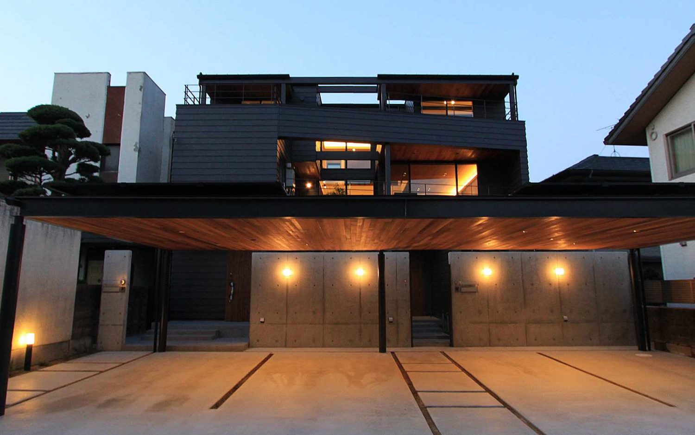 SE構法 3階建の家